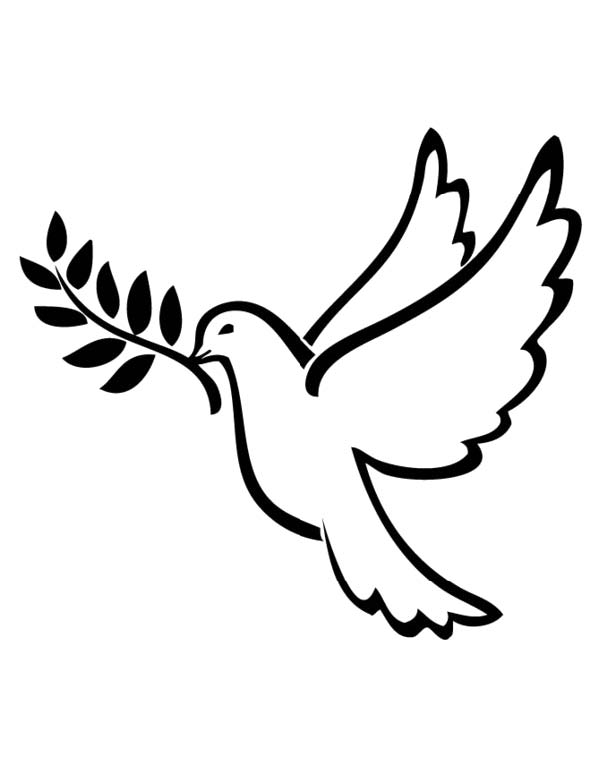 Peace Dove from Justice and Peace Office - Information Book 2014