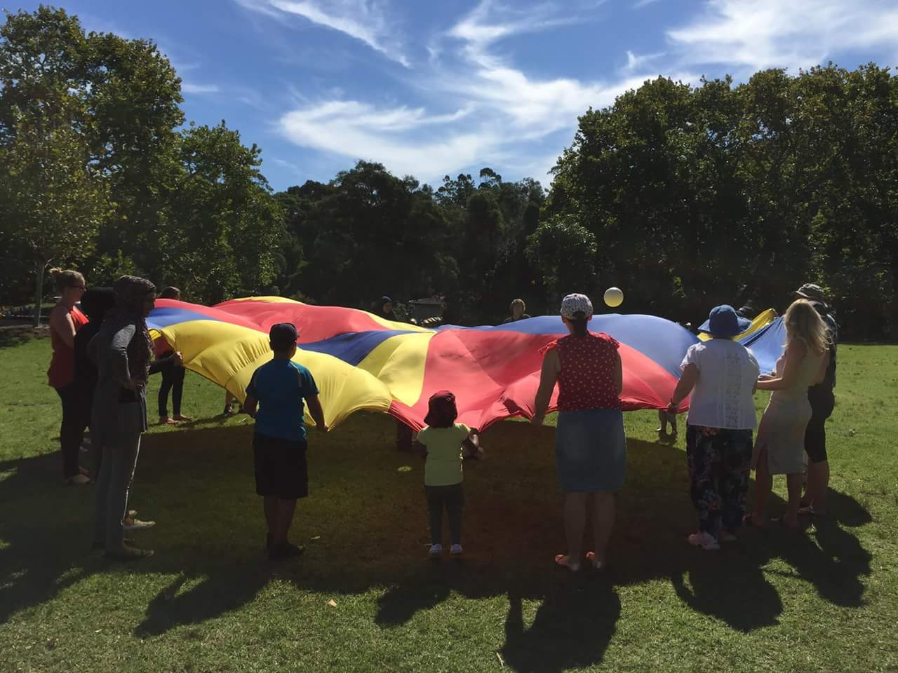 picnic at Audley the parachute
