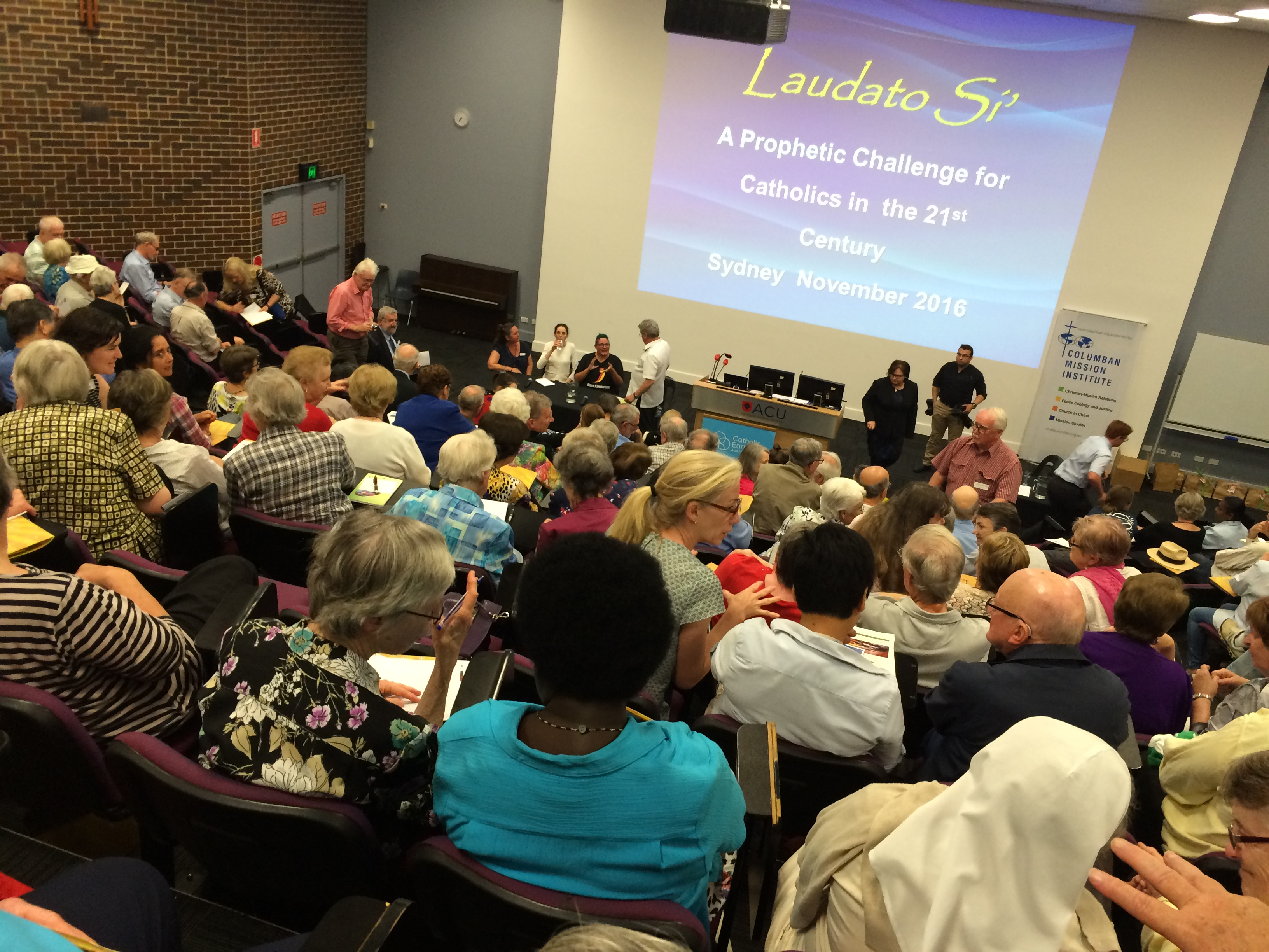 'Bringing Laudato Si' to Life' event at ACU