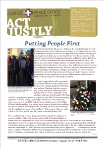 Act Justly - Dec Jan 16-17